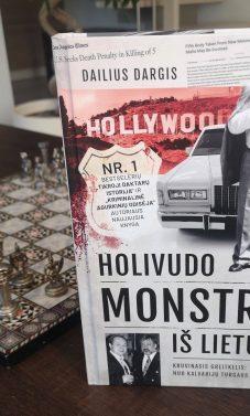 """Nauja Dailiaus Dargio knyga """"Holivudo monstras iš Lietuvos"""" verta gero filmo"""